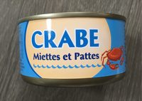 Crabe Miettes & Pattes - Product