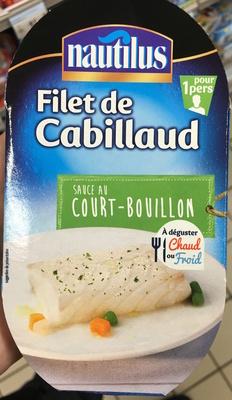 Filet de Cabillaud sauce au Court-Bouillon - Produit - fr