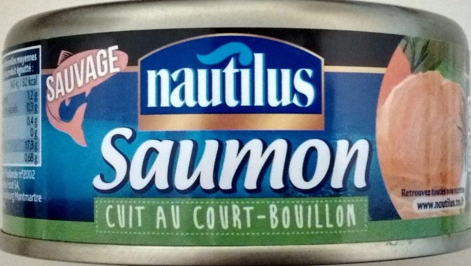 Saumon Cuit au Court-Bouillon - Product