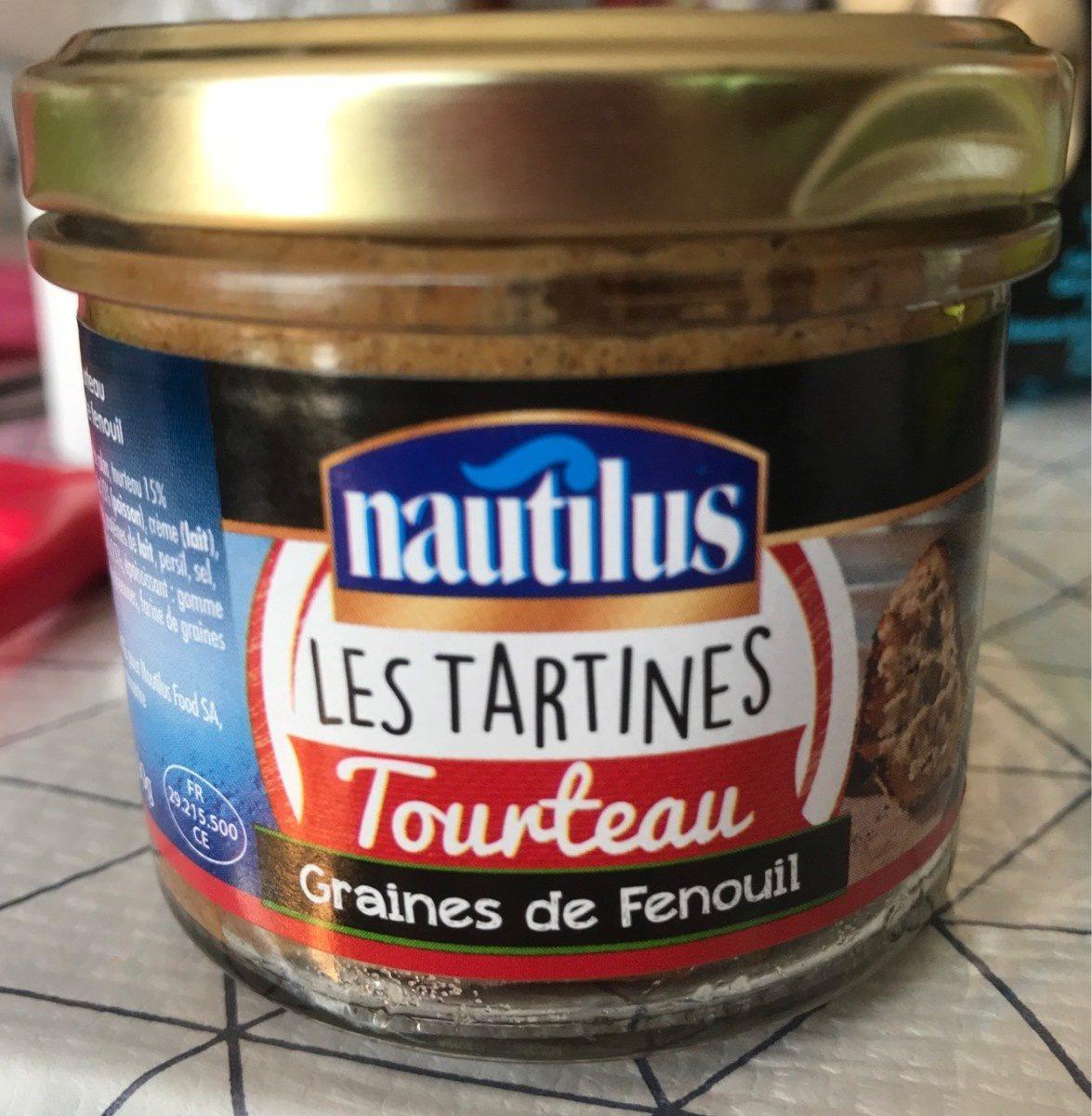 Les tartines - tourteau graines de fenouil - Product