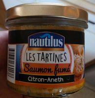 Les Tartines Saumon Fumé, Citron-Aneth - Product