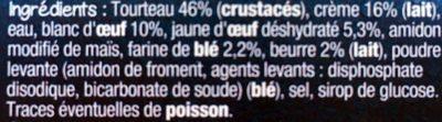 Mon Petit Soufflé Tourteau - Ingrediënten - fr