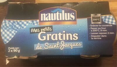 Gratins de saint-jacques - Produit - fr