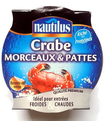 Crabes morceaux et pattes - Product