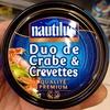 Duo de crabe et crevettes - Produit