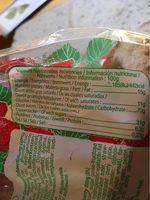 Lunettes de romans a la fraise - Informations nutritionnelles