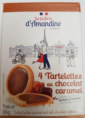 Tartelettes au Chocolat Caramel - Produit