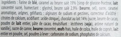 Tartelettes au Chocolat Caramel - Ingrédients