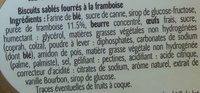 Les cookie moelleux - 成分 - fr