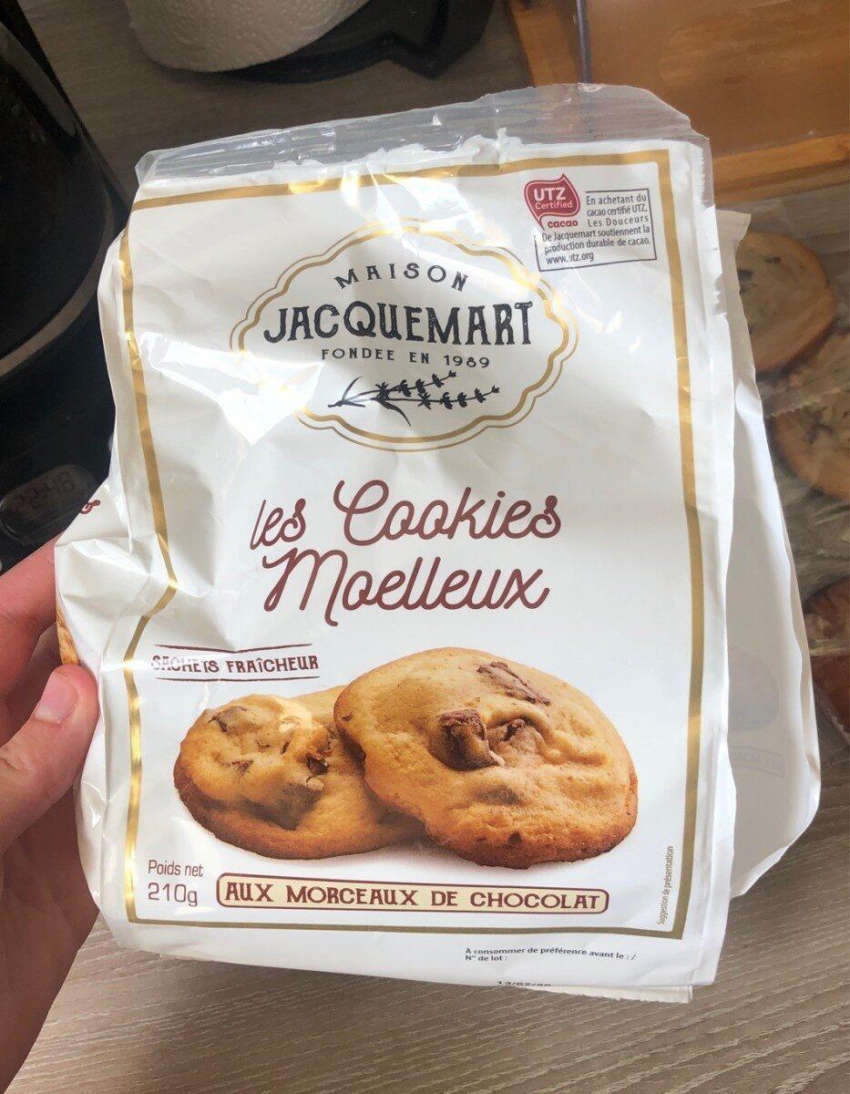 Les cookie moelleux - 营养成分 - fr