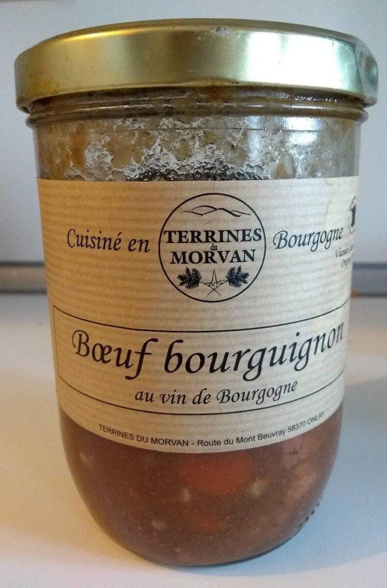 Bœuf bourguignon au vin de Bourgogne - Product - fr
