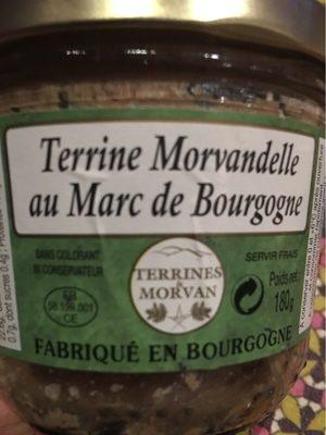 Terrine Morvandelle au marc de Bourgogne - Product