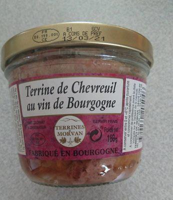 Terrine de chevreuil - Product