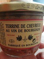 Terrine de chevreuil au vin de Bourgogne - Produit - fr