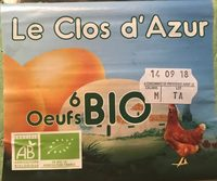 Oeuf bio - Product - fr