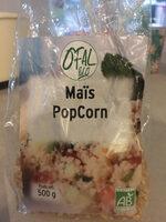 Maïs pop corn à éclater bio - Produit - fr