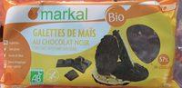 Galettes de Maïs au Chocolat Noir - Produit