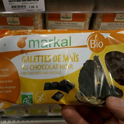 Galettes de Maïs au Chocolat Noir - Ingrédients