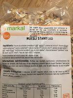 Muesli standard - Product