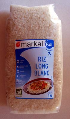 Riz long blanc - Produit - fr