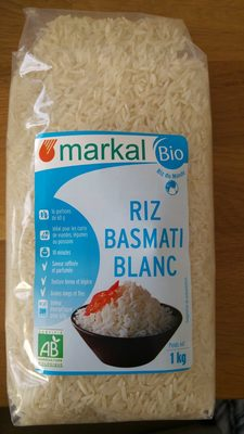 Riz basmati blanc - Produit - fr