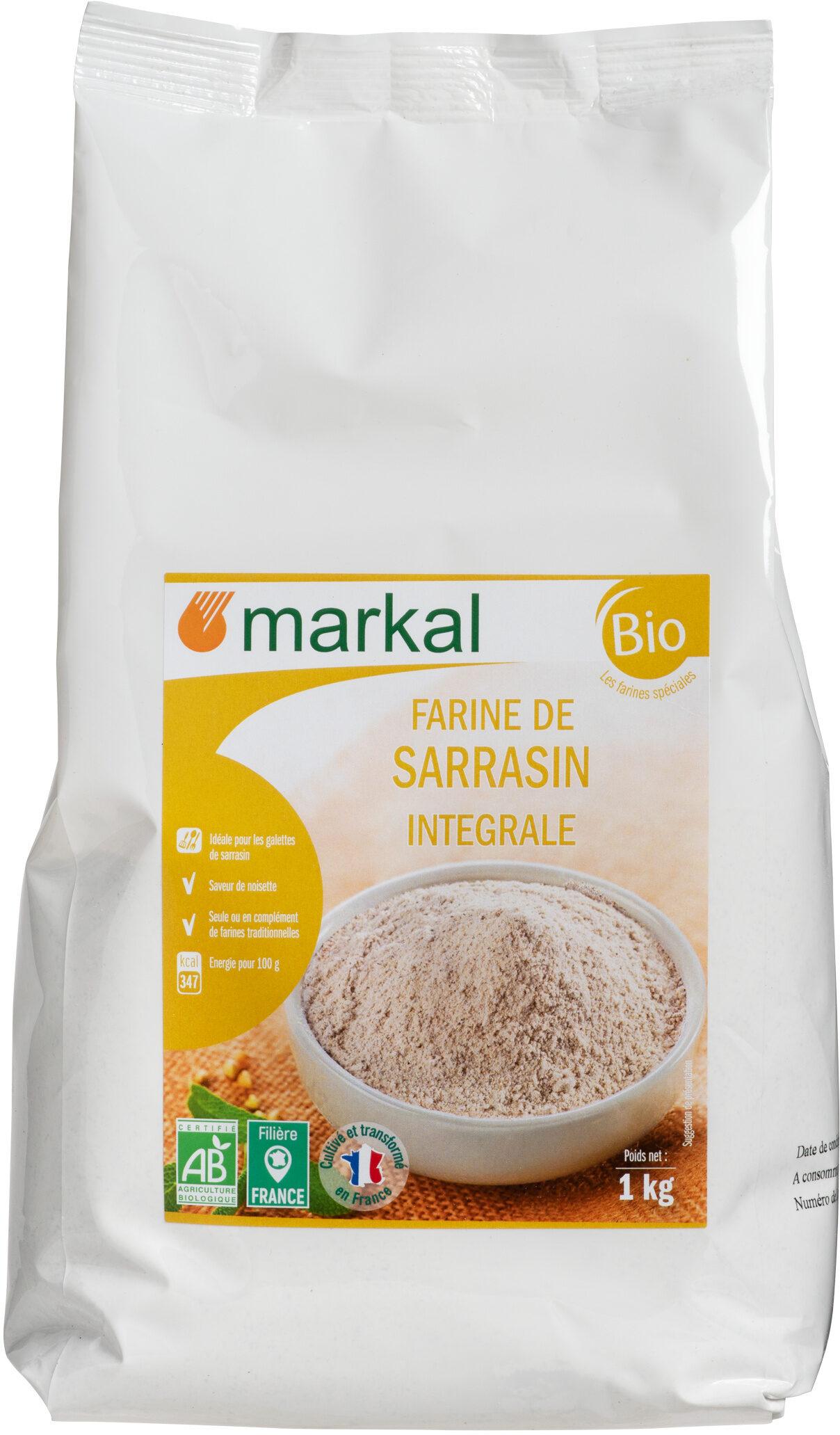 Farine de sarrasin intégrale - Product - fr