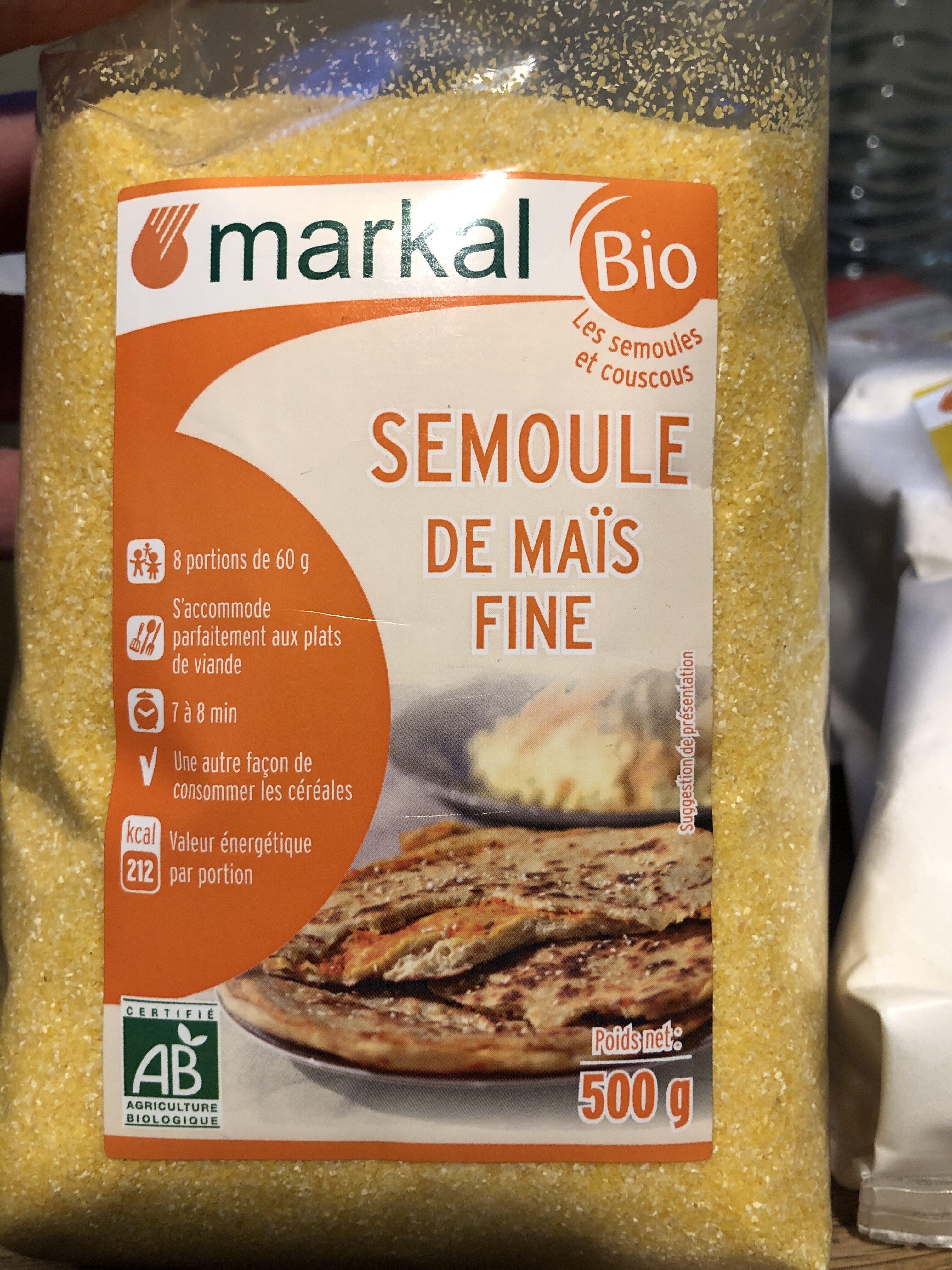 Semoule de maïs fine - Produit - fr