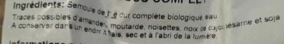 Couscous complet - Ingrédients - fr