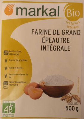 Farine de grand épeautre intégrale - Product