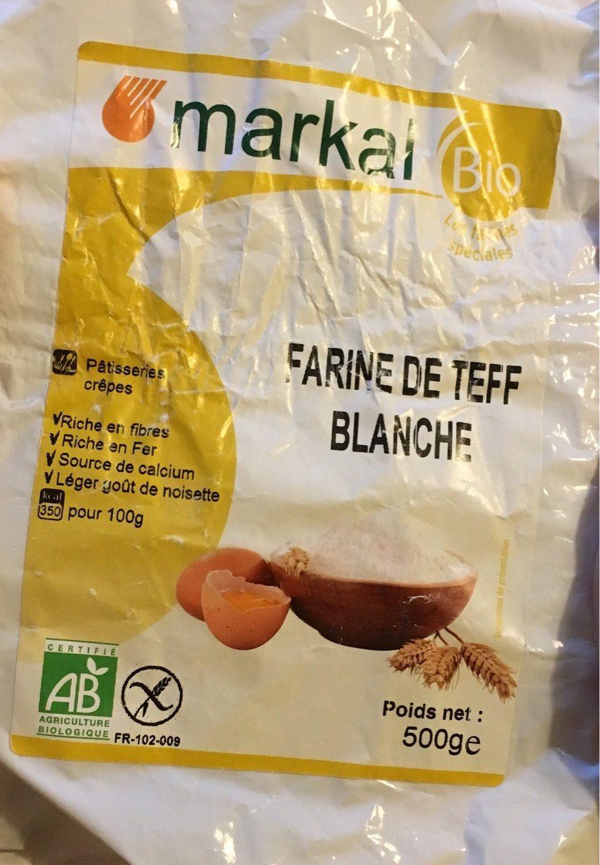 Farine De Teff Blanche - Prodotto - fr