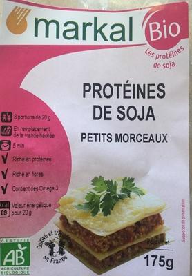 Protéines de soja petits morceaux - Produit - fr