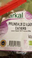 PRUNEAUX D'AGEN ENTIERS - Ingrédients - fr