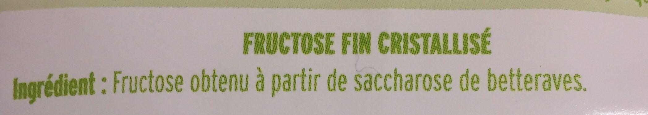 Fructose fin cristalisé - Ingrédients - fr