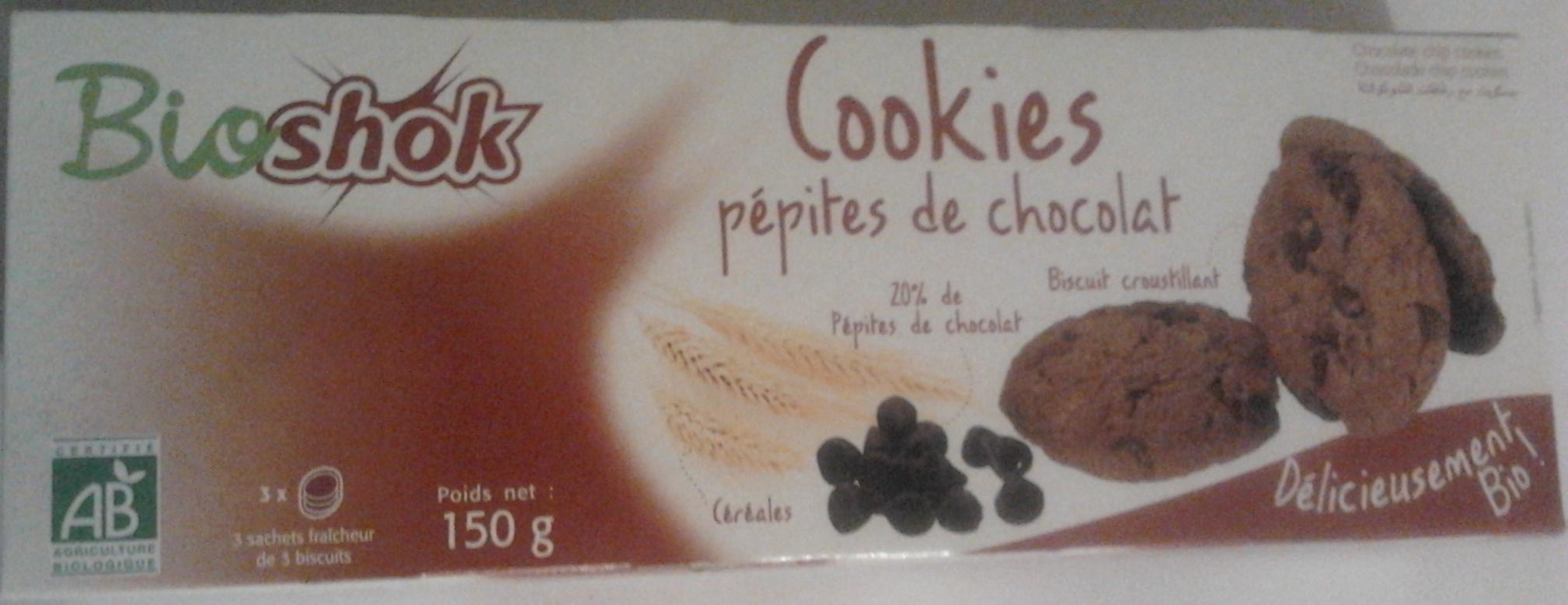 Cookies pépites de chocolat - Produit - fr