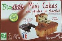 Mini Cakes Aux Pépites De Chocolat Bio - 175G - Bioshok - Produit - fr