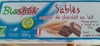 Sablés Nappés de Chocolat au Lait - Produit - fr