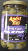 Olives vertes aux anchoix - Produit - fr