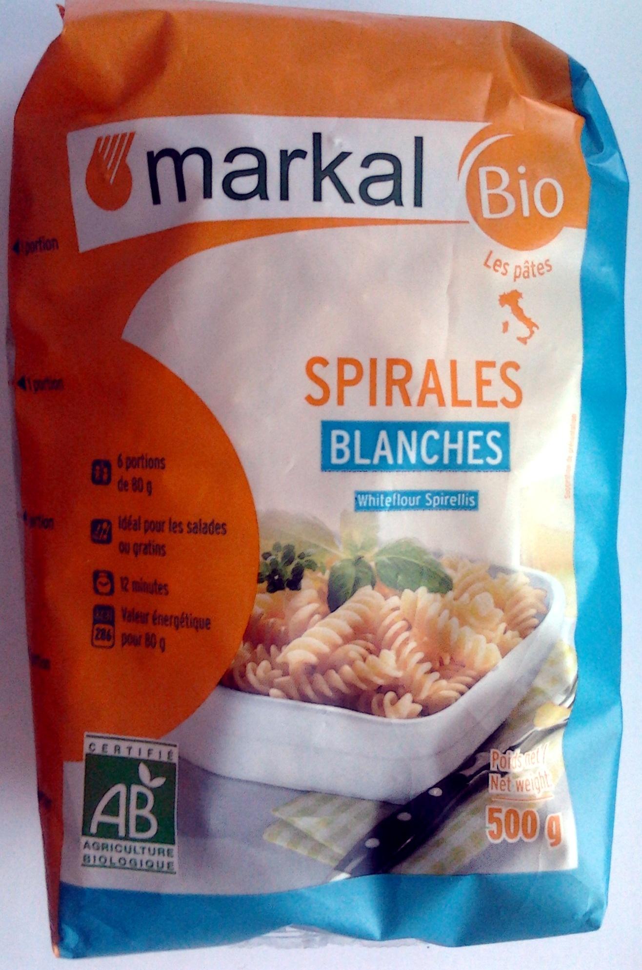 Spirales Blanches - Produit
