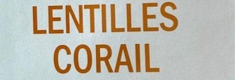 Fusilli lentilles corail sans gluten - Ingrediënten - fr