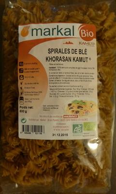 Spirales de Blé - Pâtes alimentaires - Produit - fr