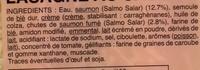 Lasagnes au saumon - Ingrédients