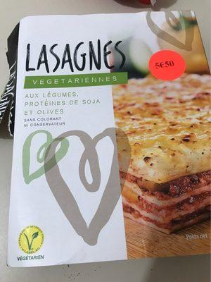 Lasagnes vegetariennes - Produit - fr
