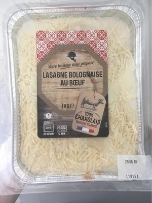 Lasagne Bolognaise au Bœuf - Product - fr