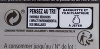 Lasagne bolognaise au Boeuf - Recycling instructions and/or packaging information - fr