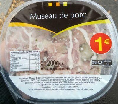 Museau de Porc - Produit - fr