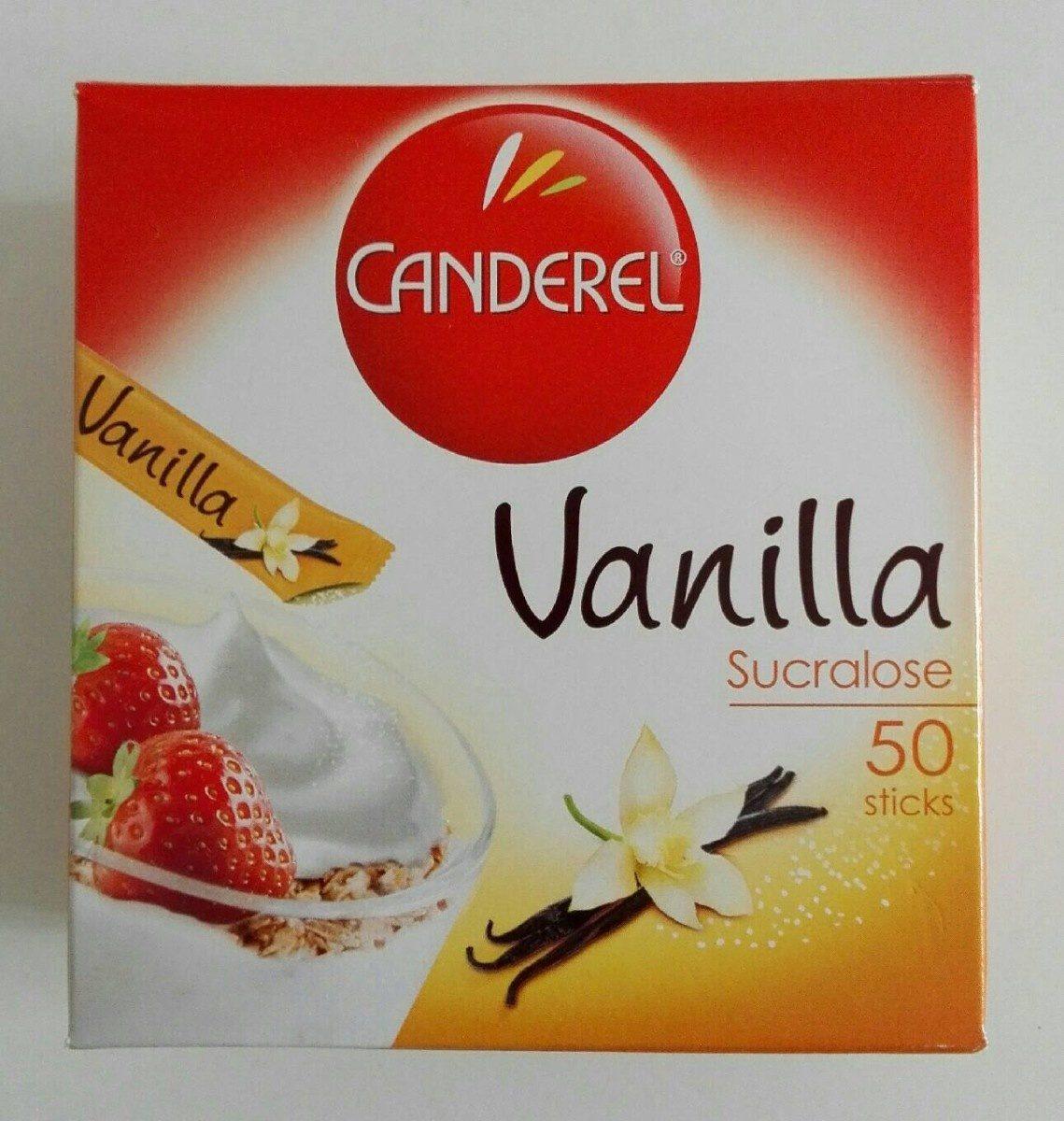 Canderel vanilla - Produit - fr