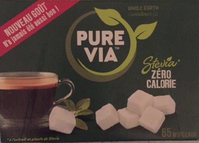Pure via stevia - Produit