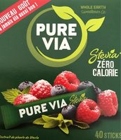 Edulcorant Stévia sticks Pure Via - Product
