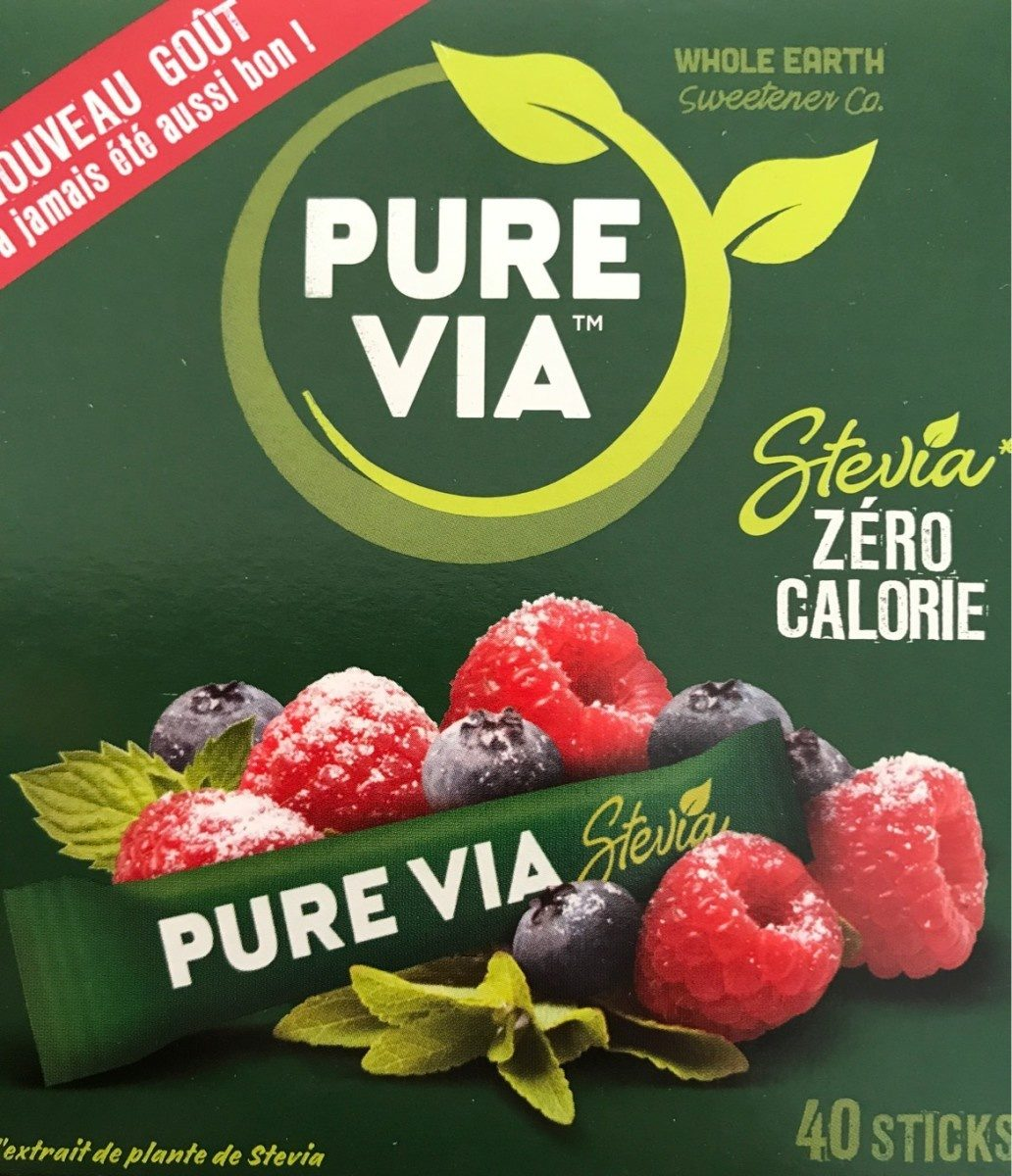 Edulcorant Stévia sticks Pure Via - Product - fr