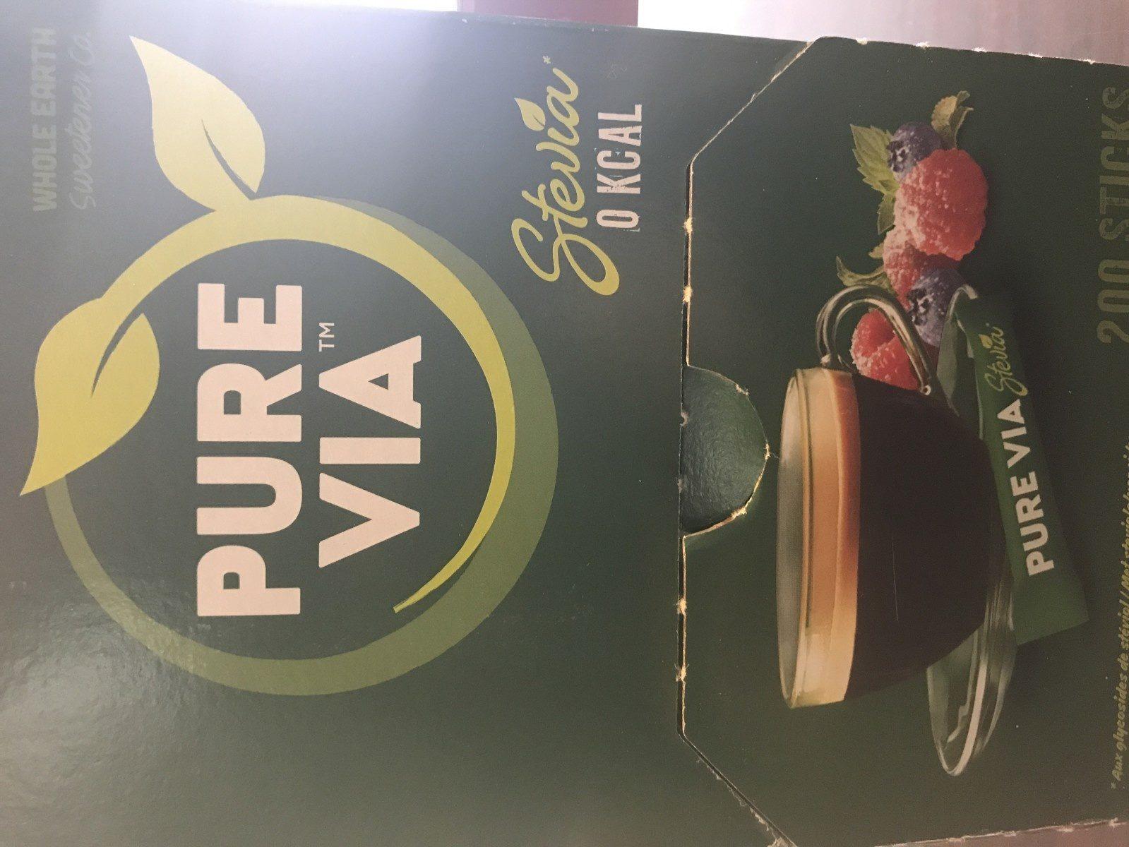 Edulcorant Stévia En Poudre - Ingrédients
